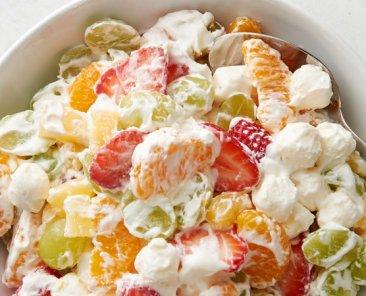 pudding-fruit-salad-ambrosia